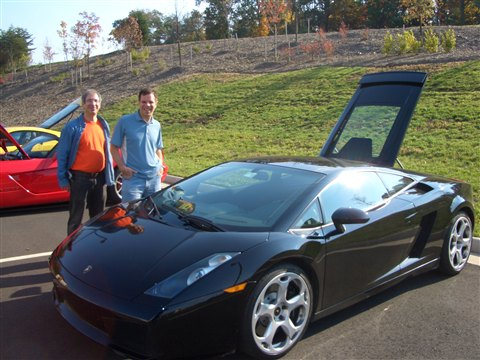 Exotic Car Run Lambo Giardo