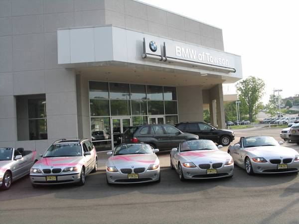 Z4s Ready to Go at Towson BMW