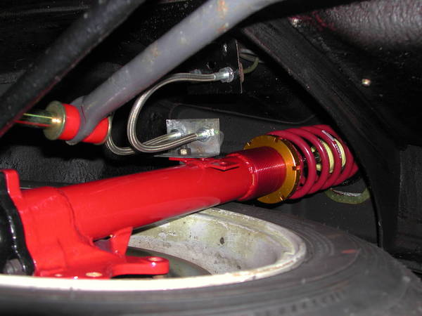 2002 Ground Control suspension