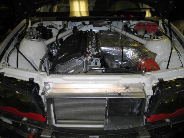 PTG E46 M3 Engine Compartment