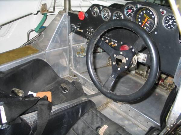 Number 44 Jaguar Interior at PTG