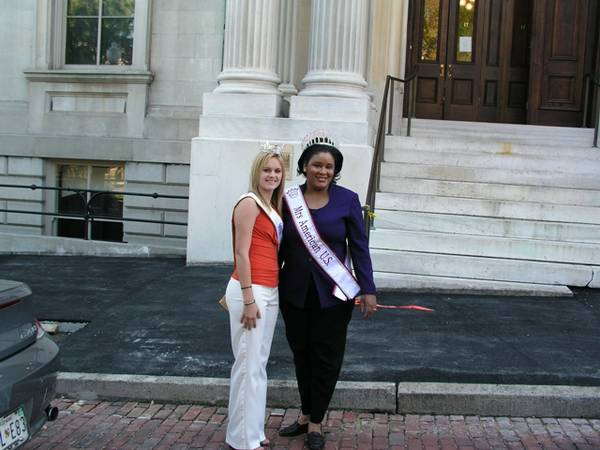 Mrs. American USA and Miss Annapolis